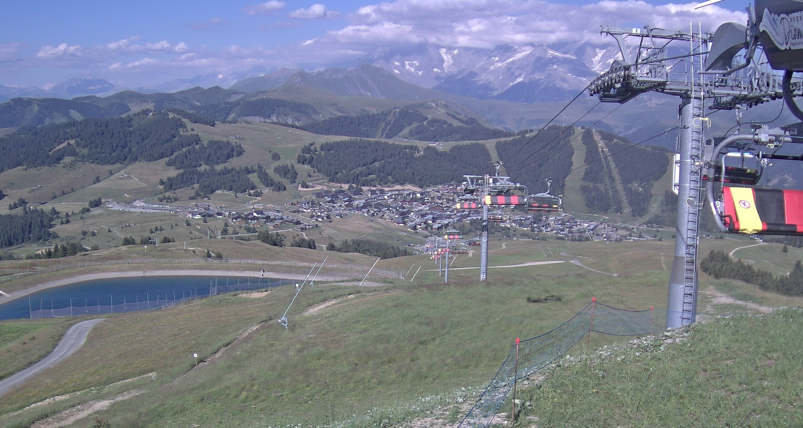 Les Saisies webcam - Mont Bisanne ski station