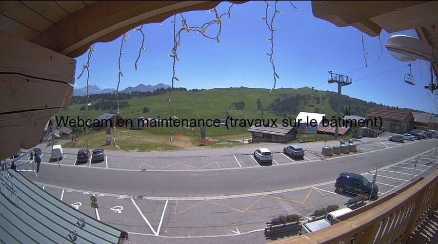 Les Saisies web cam - Les Chardons Le Manant&Le Mont Bisanne